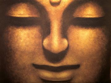 schilderij Bodhisattva