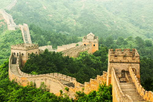 canvas chinese muur