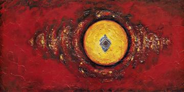 schilderij cercle matiere