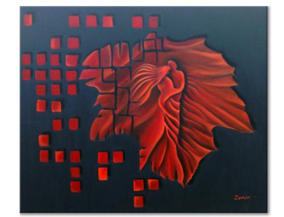 Schilderij - Eternal Love