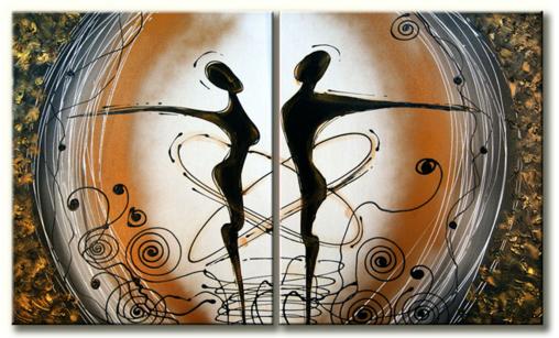 Schilderij - Party Love