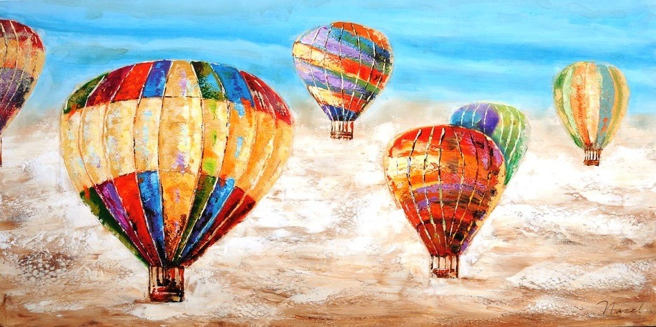 schilderij-luchtballon-70x140-440
