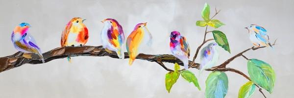 schilderij-vogeltjes-40x120-4b0